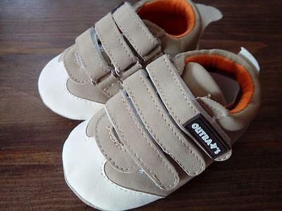 BNWT Outbaks Baby Boys Pram Shoes Pumps 9-12 Months Next Day PP NEW Baby Clothes