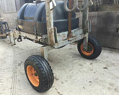 Water Bowser Mobile 400 Gallon Clean Inside Livestock Drinking Water Good Tyres