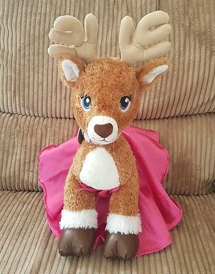 Build a Bear Workshop Glisten Reindeer Soft Plush Toy
