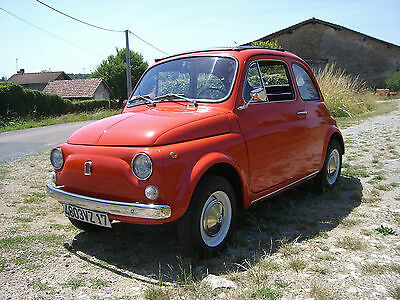 Classic Fiat 500L 1969 very good condition-French registered and left hand drive