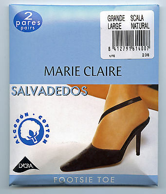 MARIE CLAIRE 238 - salvadedos pack 2 pares color scala salvapies