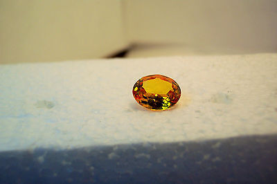very nice loose stunning beautiful  8x10 oval citrine  faceted carat 2.10