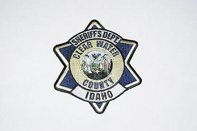 Sheriff's Dept. ClearWater County Police Patch, Idaho