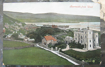 Postcard. Barmouth from west. Wales. Unused. Colour. e3