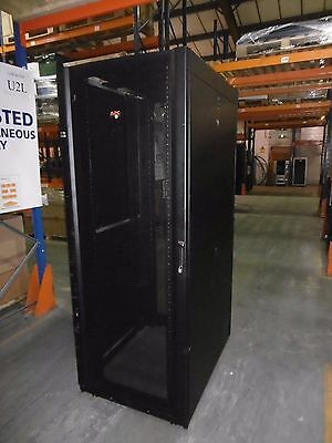 APC AR3150 NetShelter SX 42U Rack Cabinet Enclosure for Servers & Networking