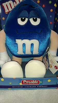 M&M's Blue Posable Plush Character