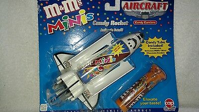 M&M's Minis AIRCRAFT Candy Rocket