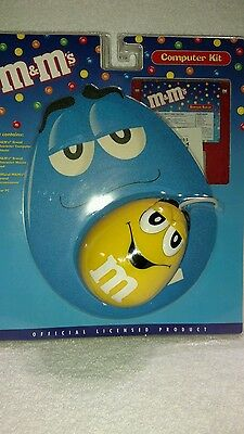 M&M's Computer Kit with Yellow Peanut Mouse, Mouse Pad and Screensaver