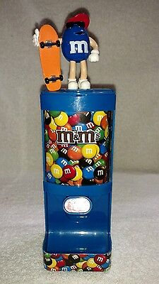 "M&M's Blue Skateboarder ""Yum"" Candy Dispenser"