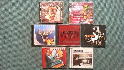 Lot de 7 albums CD ( dont 1 NEUF )