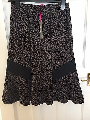BNWT Women's Marks & Spencer Per Una Size 8 Animal Print Skirt. Paid £35.