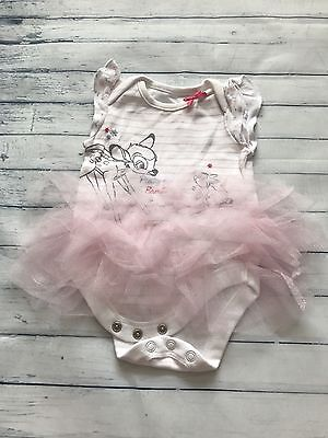 Baby Girls Clothes 0-3 Months - Pretty Disney Tutu Vest Top Outfit -