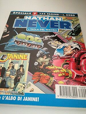 speciale Nathan Never n 7 con allegato