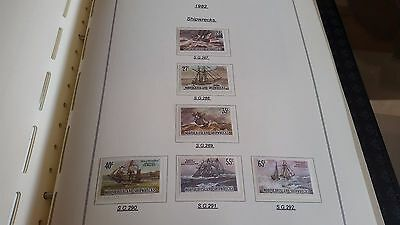 Norfolk Island 1982 Sg 289-292 Shipwrecks Mnh