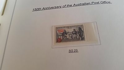 Norfolk Island 1959 Sg 23 150Th Anniv Of Post Office Mnh