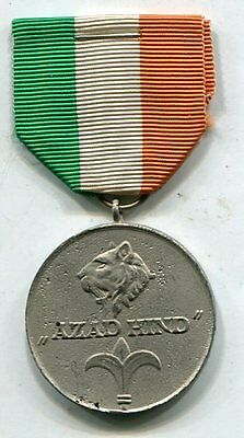 WWII Order Of Tiger India Azad Hind Medal