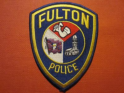Collectible Missouri Police Patch Fulton New
