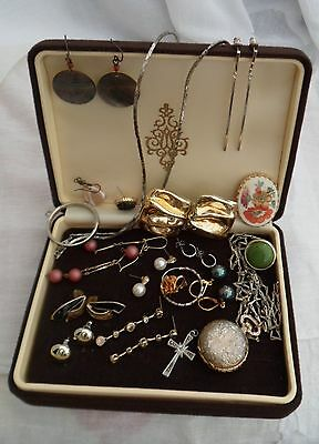 Small Vintage Jewellery Lot inc. Necklace Watch