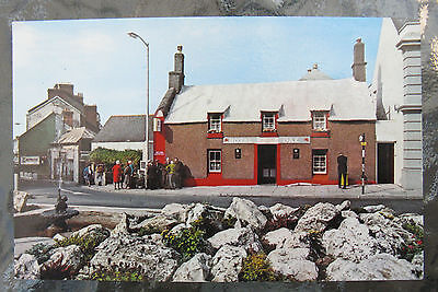 "Postcard: The ""Royal Oak"" Fishguard., Wales. Colour Unused. e3."