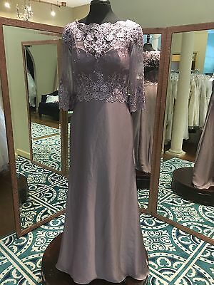 Montage For Mon Cheri Plum Purple Style 214941 Size 10 New, Mother Of The Bride