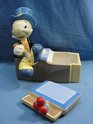Disney Auctions Jiminy Cricket Limited Edition Of 350 Cookie Jar Rare Pinocchio