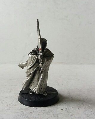 games workshop  Lord of the rings metal ring wraith rare pose 1