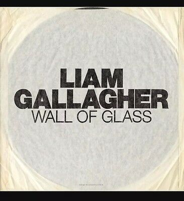 "Liam Gallagher Oasis Wall Of Glass 7"" Single Sided Etched - Pre Order 1 Of 1000"