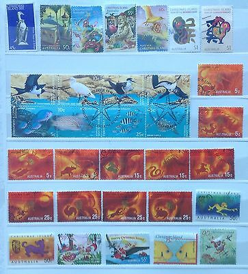Christmas Island Miniature Sheets (10), International Stamps (8) + 32 Other