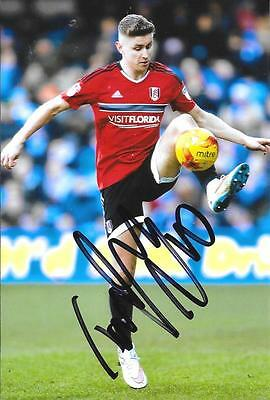 Tom Cairney Fulham Captain Signed 6 X 4 Inch 2016/17 Season Photo