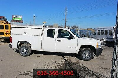 2008 Chevrolet Silverado 1500 Work Truck 2008 Work Truck Used 4.8L V8 ARE Utility Service Cargo Low Miles 1 Owner Xcab