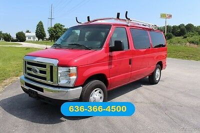 2013 Ford E-Series Van XLT 2013 XLT Used 5.4L V8 16V Automatic RWD Wagon passenger cargo work
