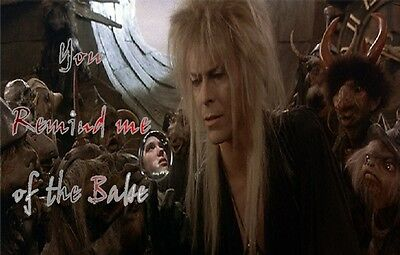 Labyrinth - I Move the Stars or You Remind me of The Babe Iron on Transfer