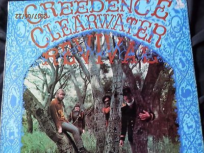 """Creedence Clearwater Revival vinyl LP Record """"Creedence Clearwater Revival"""" VGC"""