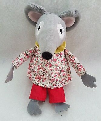 Bagpuss Lizzie Singing Mouse New Soft Plush Toy musical