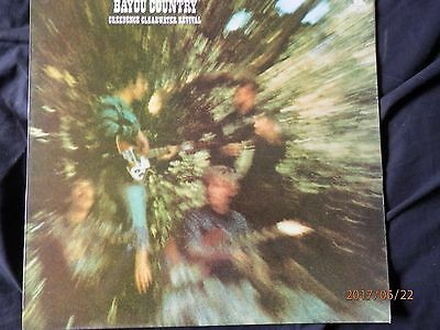 """Creedence Clearwater Revival vinyl LP Record """"Bayou Country"""" in Good Condition"""