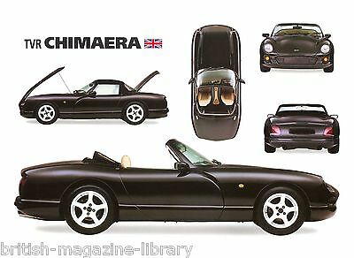 TVR Chimaera 5-way Picture Illustration - Laser Poster Print