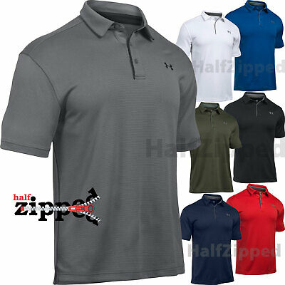 Under Armour UA Tech Men's Golf Polo Shirt 1290140 S-3XL