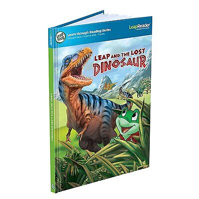 LeapFrog LeapReader Book: Leap and the Lost Dinosaur 708431212190 Ages 5-8 Years