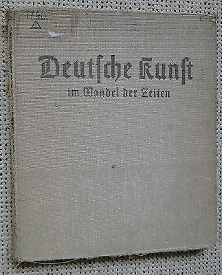 WW2 German Art through the years picture book 1937 Wehrmacht Luftwaffe Nürnberg