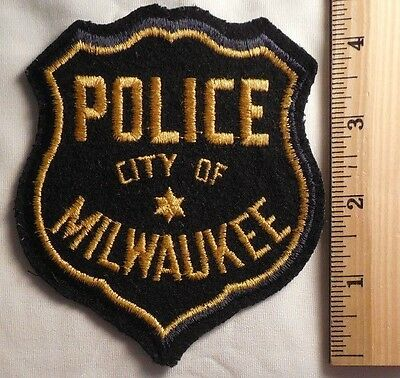 Milwaukee Wisconsin Police Patch (Highway Patrol, Sheriff, Ems)