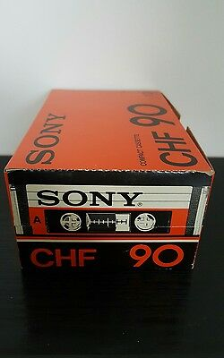 SONY CHF90 (Box of 10) :1978-81 : MADE IN FRANCE : NEW & SEALED & UNOPENED!
