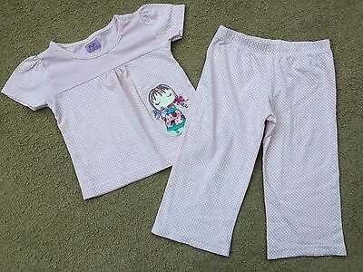 Youner Girls Short Sleeve Pyjama Set Age 12-18 Months From F&f