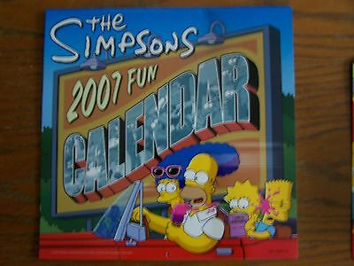 The Simpsons 2007 Fun Calendar