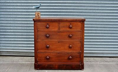 Antique Mahogany Chest Of Drawers.