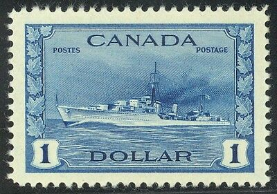 262 $1.00 Destroyer Gorgeous Never Hinged Single - FRESH!