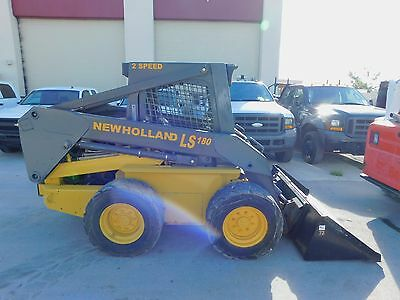 "2006 New Holland Ls-180 Turbo ""super-Boom"" Skid Steer Wheel Loader - Low Hours"