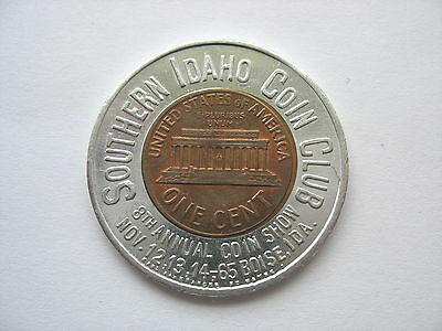 1964 Lincoln Encased Cent - Southern Idaho Coin Club
