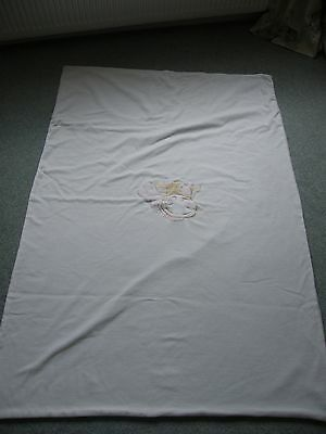 pink and white cow cot quilt lola cow by noukies