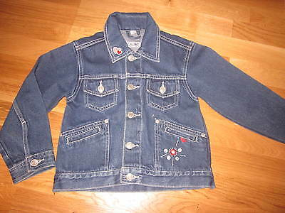 1 Jeansjacke - Gr. 116 - US. Q7  Authentic Jeans