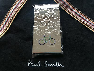 Paul Smith 'Bicycles' Money Clip Wallet Cycling